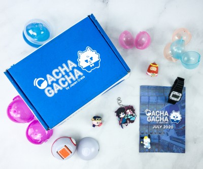 Gacha Gacha Crate July 2020 Subscription Box Review + Coupon