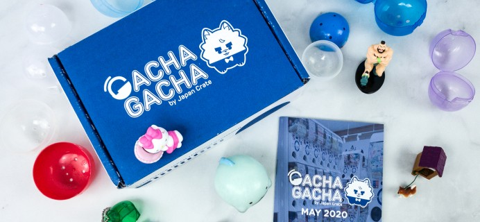 Gacha Gacha Crate May 2020 Subscription Box Review + Coupon