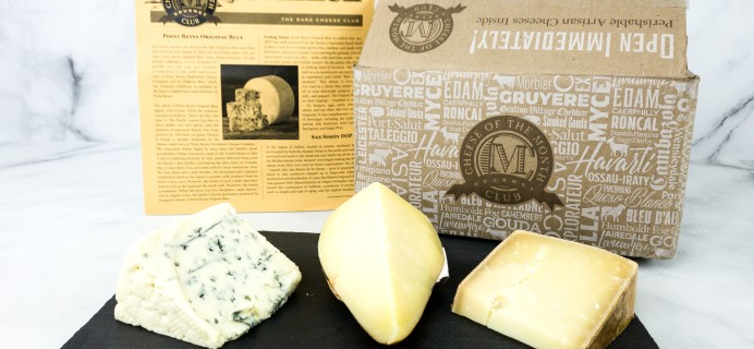 Rare Cheese of the Month Club June 2020 Subscription Box Review