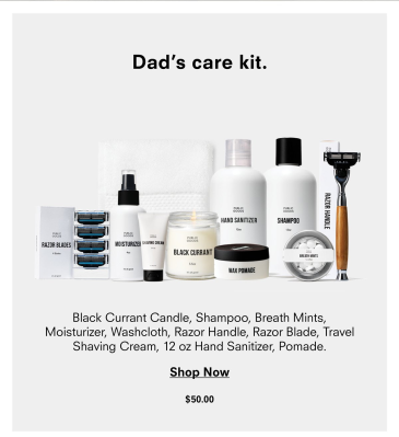 Public Goods Dad Care Kit Available Now + Coupon!