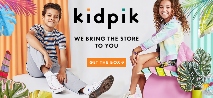 Kidpik Summer 2020 Boxes Shipping Now + 50% Off Coupon!