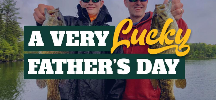 Lucky Tackle Box Father's Day Sale: Get 20% Off Gift Subscriptions!
