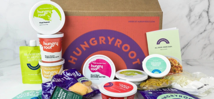 Hungryroot Coupon: FREE Plant-Based Protein + 30% Off First Box!