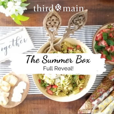 Third & Main Home Summer 2020 Deluxe Box Full Spoilers!