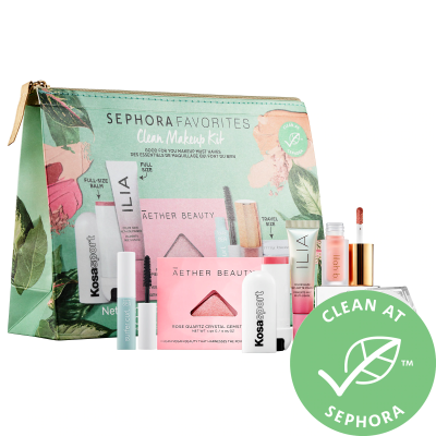 Clean Makeup Set: New Sephora Kit Available Now + Coupons!