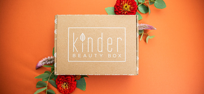 Kinder Beauty Box July 2020 FULL Spoilers + Coupon!