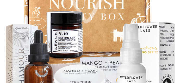 Nourish Beauty Box July 2020 Full Spoilers + Coupon!