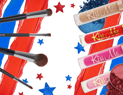 LiveGlam Lippie Club + Eyeshadow Club + Brush Club Fourth of July Sale: Get FREE Lippies OR Brushes!