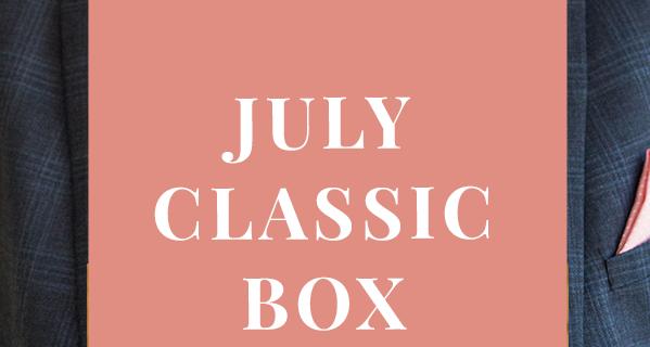 Gentleman's Box July 2020 Spoilers #1!