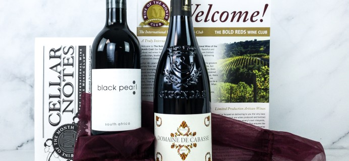 International Wine Club Bold Reds June 2020 Review + Coupons
