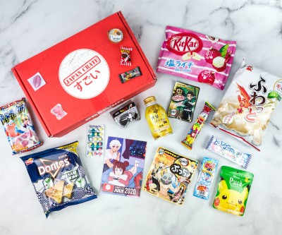 Japan Crate July 2020 Subscription Box Review + Coupon