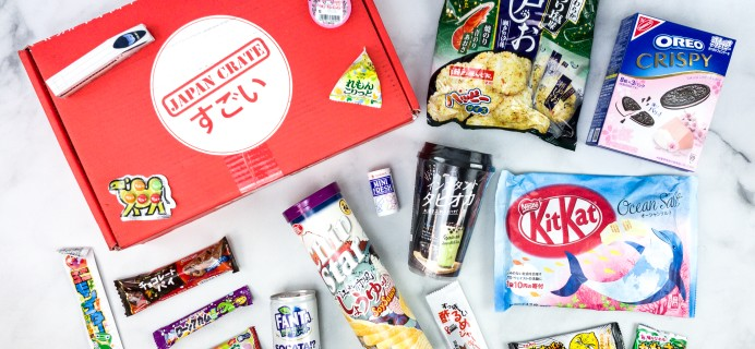 Japan Crate June 2020 Subscription Box Review + Coupon
