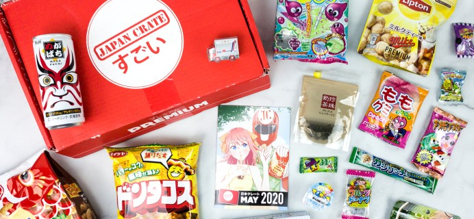 Japan Crate May 2020 Subscription Box Review + Coupon