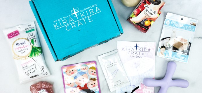 Kira Kira Crate July 2020 Subscription Box Review + Coupon