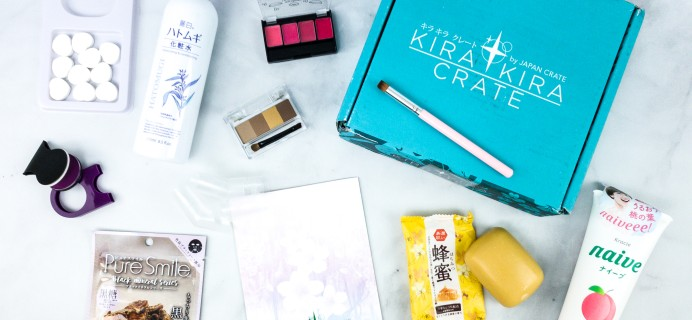 Kira Kira Crate May 2020 Subscription Box Review + Coupon