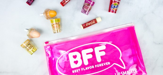 Lipsmacker BFF Lip Balm Summer 2020 Subscription Box Review