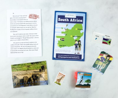Little Passports World Edition Subscription Box Review + Coupon – SOUTH AFRICA