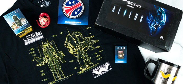 Loot Sci-Fi by Loot Crate Spring 2020 Subscription Box Review + Coupon – ALIENS