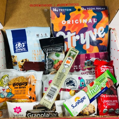 Love With Food June 2020 Deluxe Box Review + Coupon!