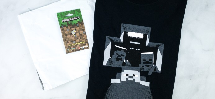 Minecraft T-Shirt Club June 2020 Review + Coupon!