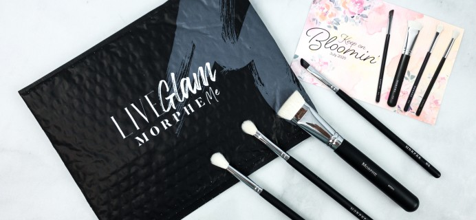 LiveGlam Brush Club July 2020 Subscription Box Review + Free Brush Coupon!
