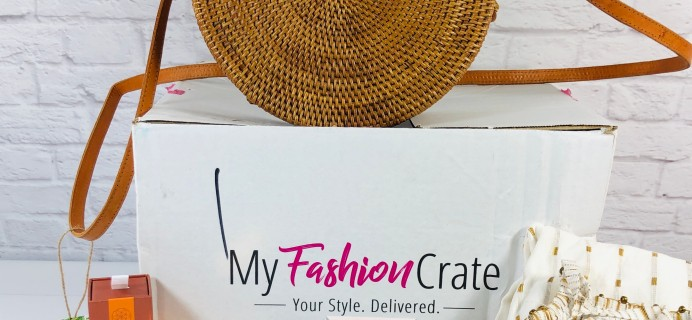 My Fashion Crate Summer 2020 Subscription Box Review