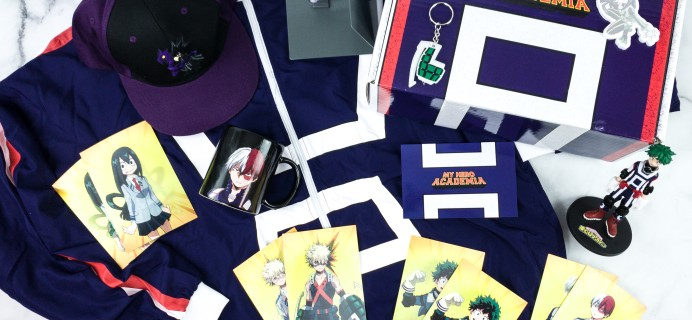 My Hero Academia Spring 2020 Subscription Box Review