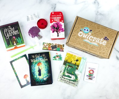 OwlCrate Jr. June 2020 Box Review & Coupon – MAGIC IN BLOOM