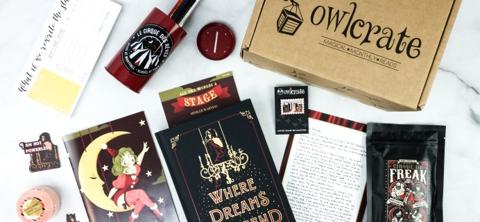 OwlCrate June 2020 Subscription Box Review + Coupon – ALL THE WORLD'S A STAGE