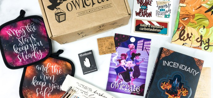 OwlCrate May 2020 Subscription Box Review + Coupon – REBELS WITH A CAUSE