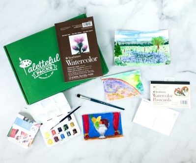 Paletteful Packs May 2020 Review + Coupon – Watercolor Create at Home