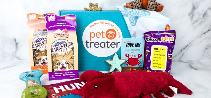 Pet Treater Deluxe Dog Pack June 2020 Subscription Box Review + Coupon