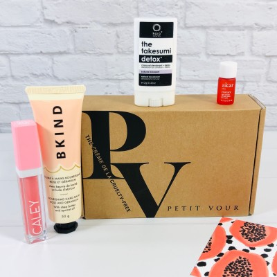 Petit Vour June 2020 Subscription Box Review & Coupon