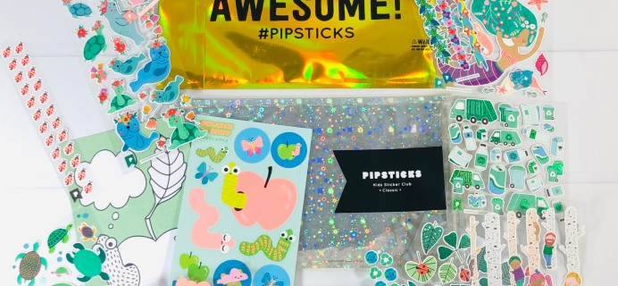 Pipsticks Kids Club Classic June 2020 Subscription Box Review + Coupon!