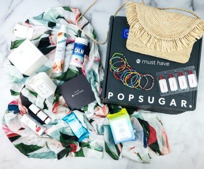 POPSUGAR Must Have Box Summer 2020 Review & Coupon