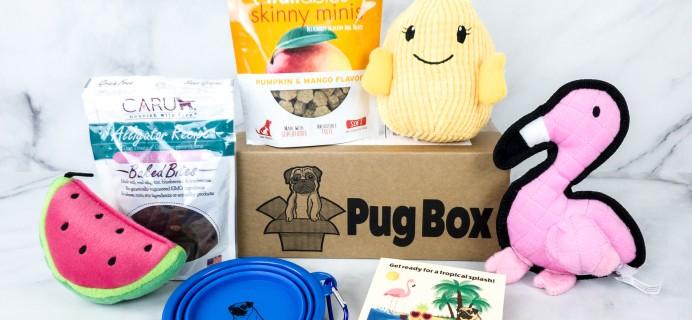 Pug Box June 2020 Subscription Box Review + Coupon