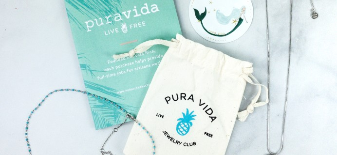 Pura Vida Jewelry Club June 2020 Subscription Box Review + Coupon!