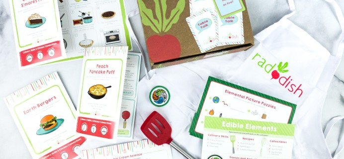 Raddish Kids Cooking Subscription Box Review + Coupons – June 2020