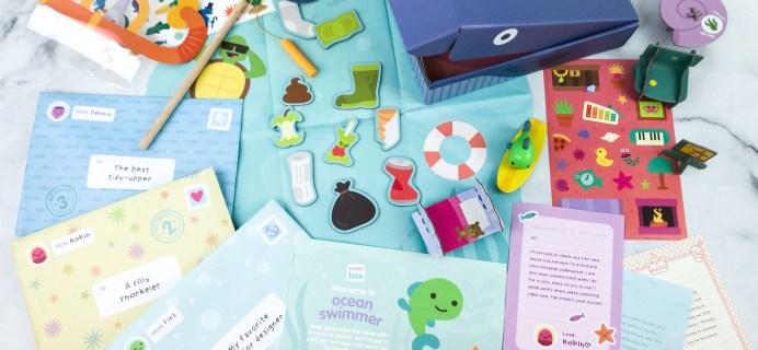 Sago Mini Box June 2020 Subscription Box Review + Coupon – OCEAN SWIMMER