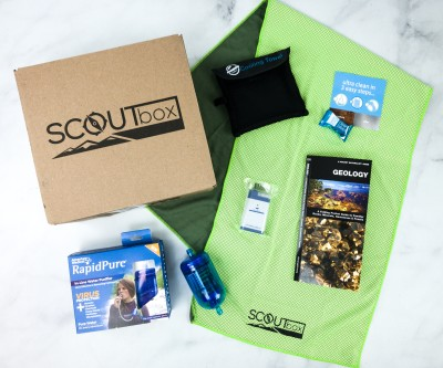 SCOUTbox June 2020 Subscription Box Review + Coupon