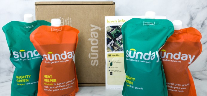 Sunday Lawn Care Subscription Review + Coupon –  Summer 2020