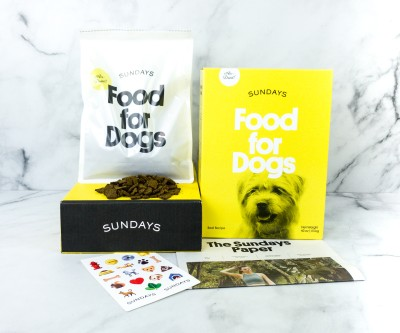 Sundays Dog Food Review + Coupon