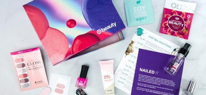 Target Beauty Box Review June 2020 – Nailed It
