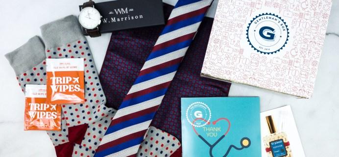 Gentleman's Box Summer Sale: Get 40% Off First Classic Box!