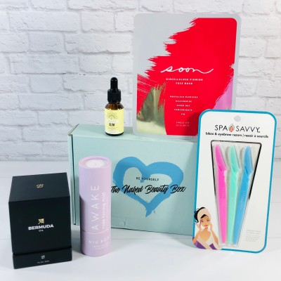 The Naked Beauty Box June 2020 Subscription Box Review + Coupon