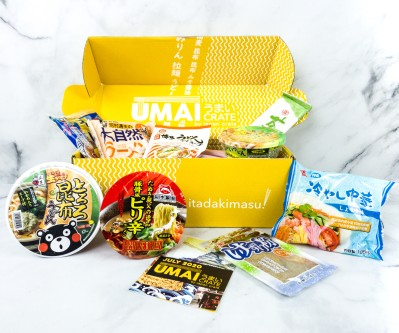 Umai Crate July 2020 Subscription Box Review + Coupon