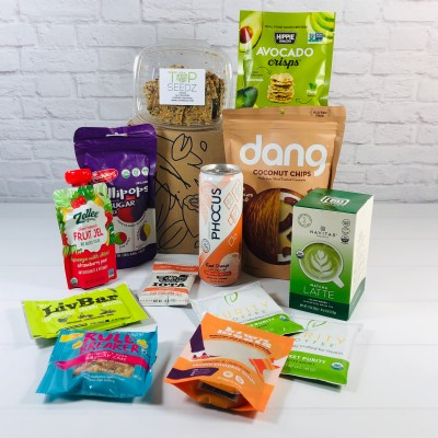 Vegancuts Snack Box June 2020 Subscription Box Review