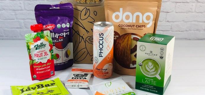 Vegancuts Snack Box June 2020 Subscription Box Review + Coupon