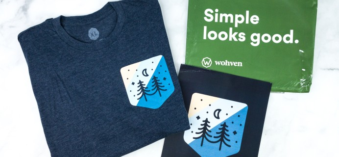 Wohven Men T-Shirt Subscription Review & Coupon – June 2020