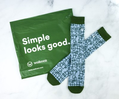 Wohven Socks Subscription June 2020 Review + Coupon!